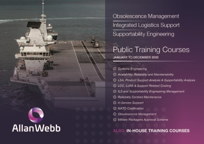 Allan Webb Ltd Training Brochure 2020